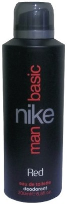 Buy Nike Basic Red Deodorant Spray  -  200 ml: Deodorant