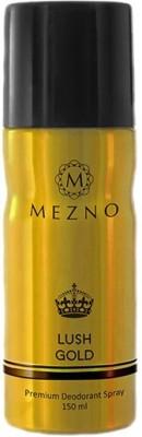 Mezno Lush Gold Deodorant Spray  -  For Men