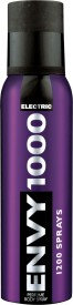 Vanesa Envy 1000 Electric Body Spray - 132 g For Men