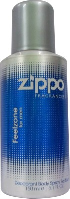 Zippo Sprays Zippo Feelzone Deodorant Spray For Men