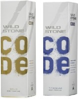 Wild Stone Gold And Titanium Body Spray  -  For Boys, Men (240 Ml)