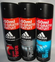 Adidas Deo 3 Combo Set (Set Of 3) 200ml Deodorant Spray  -  For Men (200 Ml)