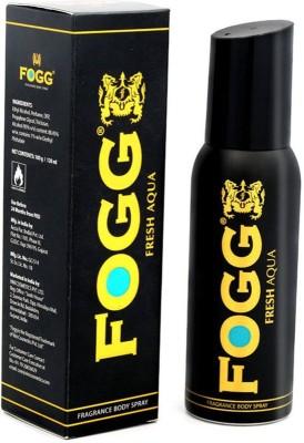 Fogg Black Collection Fresh Aqua Long Lasting Deodorant Body Spray  -  For Men (120 Ml)