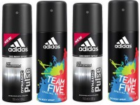 Adidas Dynamic Pulse & Team Five Deodorant Spray  -  For Men (150 Ml)