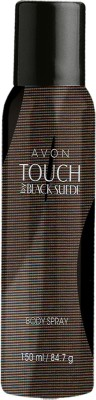 Avon Touch By Black Suede Body Spray  -  For Men (150 Ml)