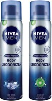 Nivea Ice Cool And Energy Body Spray  -  For Men (240 Ml)