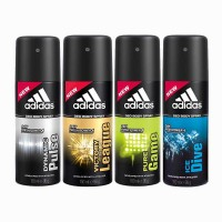 Adidas Dynamic Plus, Victory League, Pure Game And Ice Dive Deodorant Spray  -  For Men (600 Ml)