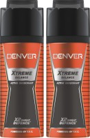Denver Extreme Balance Deo Combo (Pack Of 2) Deodorant Spray  -  For Men (150 Ml)