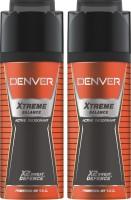 Denver Extreme Balance Deo Combo (Pack Of 2) Deodorant Spray  -  For Men (150 Ml)