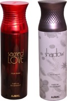 AJMAL 1 SHADOW FOR HIM::1 SACRED LOVE Deodorant Spray  -  For Men (400 Ml)