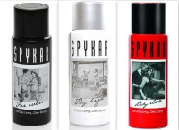 Spykar Deodorant Forever, Stay Close & Fly High Combo Pack Body Spray  -  For Boys, Men (150 Ml)
