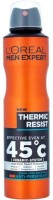 Loreal Paris Men Expert Clean Cool Fragrance -Thermic Resist Deodorant Spray  -  For Men (250 Ml)