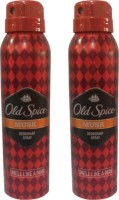 Old Spice Musk Deodorant Spray (Pack Of 2) Body Mist - 300 Ml (For Men)