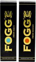 Fogg Aqua And Woody Black Series Deodorant Spray  -  For Men (120 Ml)