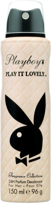 Buy Playboy Play it Lovely Deodorant Spray  -  150 ml: Deodorant