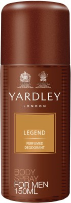 Buy Yardley Legend Deodorant Spray  -  150 ml: Deodorant