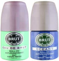 Brut Oceans And Eau De Brut Deodorant Roll-on  -  For Men (100 Ml)