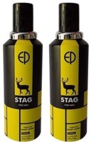 ESTIARA STAG PERFUME BODY SPRAY FOR MEN 200 ML(1+1) Body Spray  -  For Men (400 Ml)