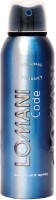 Lomani Code Body Spray  -  For Men (200 Ml)