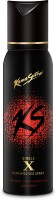 Kamasutra Black X Single Perfumed Body Spray  -  For Men (120 Ml)