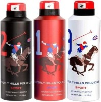 Bhpc Polo No.1 No.2 And No.9 Deodorant Spray  -  For Men (525 Ml)