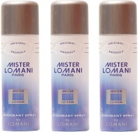 Lomani Mister Lomani Deodorant Spray  -  For Men (600 Ml)