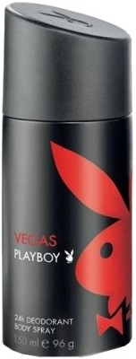 Buy Playboy Vegas Deodorant Spray  -  150 ml: Deodorant