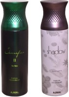 AJMAL 1 SACRIFICE II FOR HIM::1 SHADOW FOR HIM Deodorant Spray  -  For Women (400 Ml)