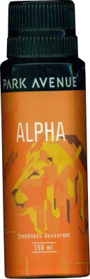Buy Park Avenue Alpha Deodorant Spray  -  150 ml: Deodorant