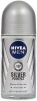 Nivea Intense Silver Protect Anti - Perspirant Deodorant Deodorant Roll-on  -  For Men (50 Ml)