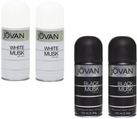 Jovan Live It Combo's In The Men's Musk Body Spray  -  For Boys, Men (600 Ml)