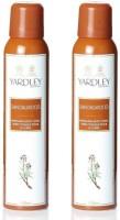 Yardley London Sandalwood Pack Of 2 Body Spray  -  For Women (150 Ml)