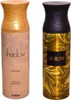 AJMAL 1 SHADOW FOR HER::1 AURUM Deodorant Spray  -  For Women (400 Ml)