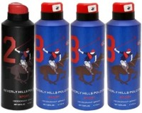 Beverly Hills Polo Club 2 And 8 Combo Set Body Spray  -  For Boys, Men (700 Ml)
