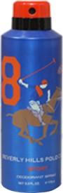Beverly Hills Polo Club Sport 8 Deodorant Spray  -  175 Ml - For Men