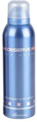 Rasasi Sprays Rasasi Deserve Pour Homme Deodorant Spray For Men