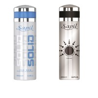 Sapil Solid & Lumio Combo Set Of 2pcs Body Spray  -  For Men (400 Ml)