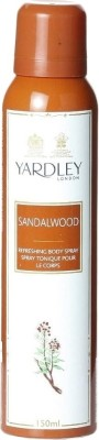 Buy Yardley Sandalwood Deodorant Spray  -  150 ml: Deodorant