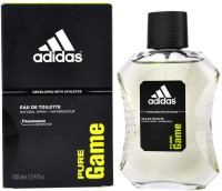Adidas The Pure Game EDT Body Spray  -  For Men (100 Ml)