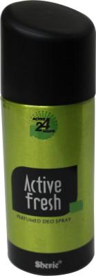 Sherie Sprays Sherie Active FreshII Deodorant Spray For Boys, Men, Girls, Women