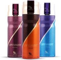 EKOZ Optimist Men + Women + Oudh Body Spray  -  For Men, Women (600 Ml)