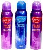 Konect Sprays Konect Exotica,Glamour,Exotica Deodorant Spray For Women