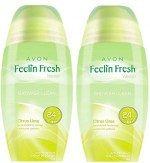 Avon Roll ons Avon Feelin Fresh Citrus Lime ROD Combo Pack Deodorant Roll on For Women, Girls