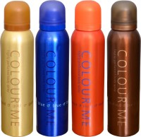 COLOR ME 1 HOMME GOLD::1 BLUE::1 MUSK::1 OUDH DEO Deodorant Spray  -  For Men (400 G)
