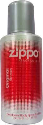 Zippo Sprays Zippo Original Deo Deodorant Spray For Men