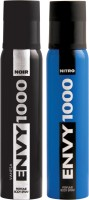 ENVY 1000 Nitro & Noir Deo Combo (Pack Of 2) Body Spray  -  For Men (130 Ml)