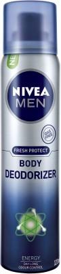 Nivea Sprays Nivea Fresh Protect Energy Deodorizer Body Spray For Boys, Men