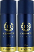 Denver Pride Deo Combo (Pack Of 2) Body Spray  -  For Men (150 Ml)