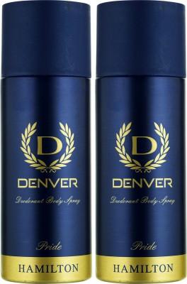 Denver Pride Deo Combo (Pack Of 2) Body Spray  -  For Men (150 Ml)