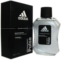 Adidas The Dynamic Pulse EDT Body Spray  -  For Boys, Men (100 Ml)
